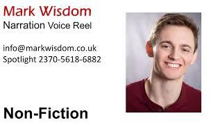 Mark Wisdom - Narration Voiceover Demo Reel