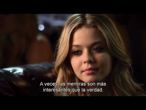 """Pretty Little Liars - Alison DiLaurentis and Erza Flashback SUBTITULADO 4x24 """"A"""" is For Answers"""