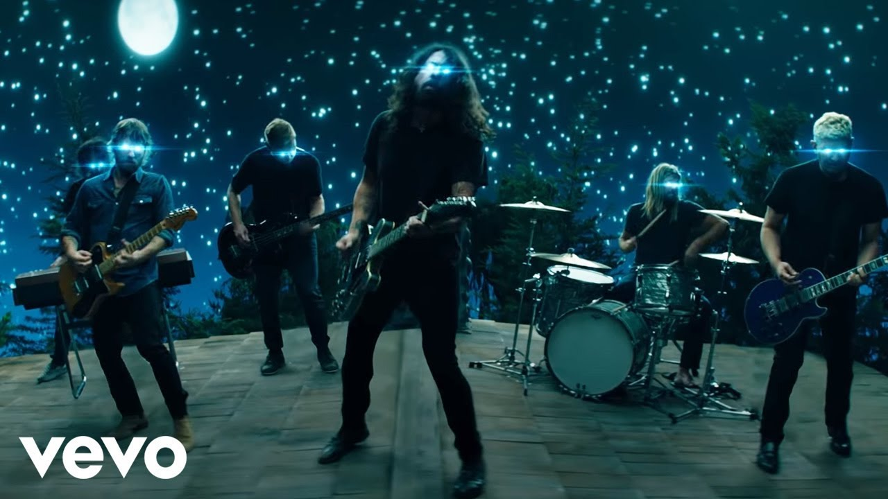 Foo Fighters share video for 'The Sky is a Neighbourhood'