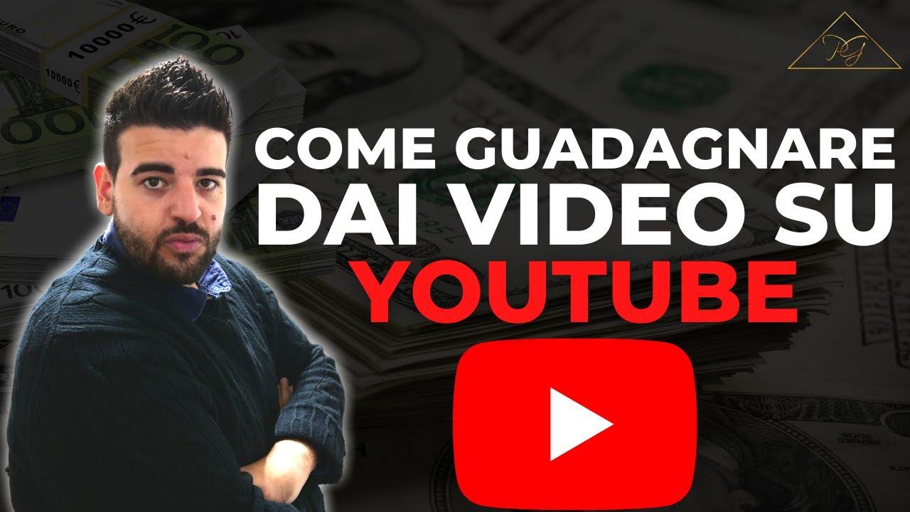 fare soldi su youtube)