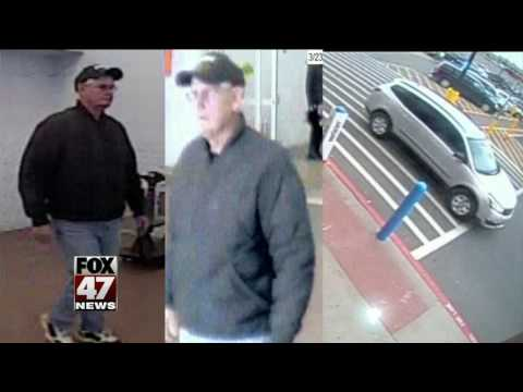 Police release pictures of a person of interest in porn fliers case