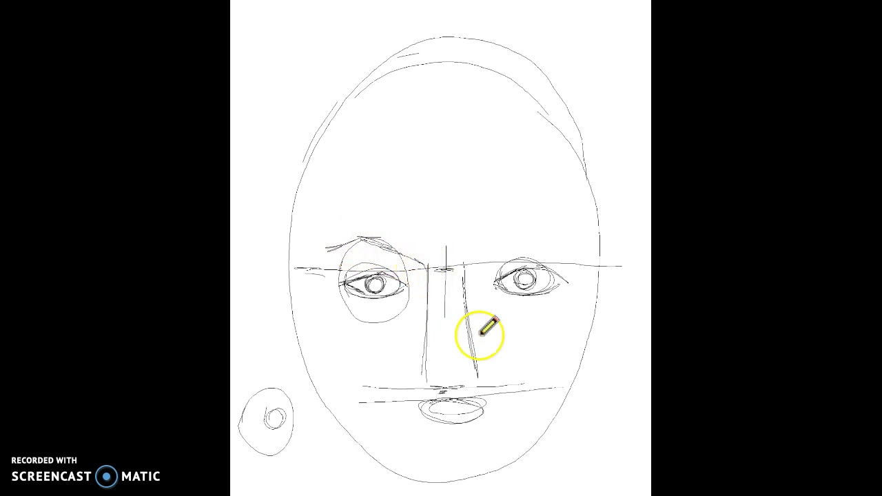 Tegnekursus del 1, tegn et portræt