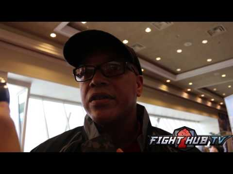 """Virgil Hunter """"I can see Angulo stopping canelo w/a body shot, hook or straight."""""""