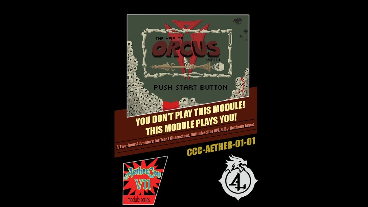 DMs Guild Review - The Heir of Orcus: Verse I
