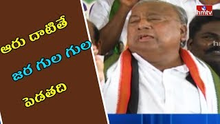 V Hanumantha Rao Satires on Tollywood Narcotics Racket | HMTV