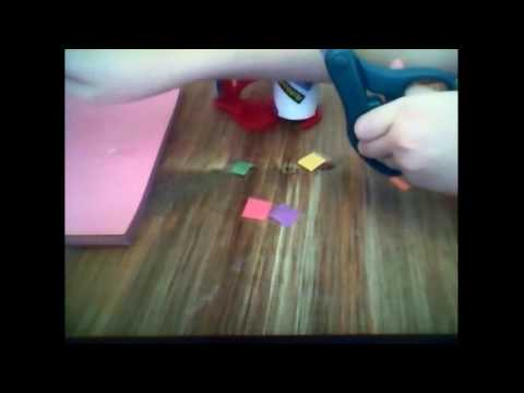 How To Make A Wrist Band With Zip-Ties And Paper! (Easy)
