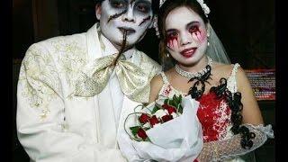 Оригинальные наряды жениха и невесты