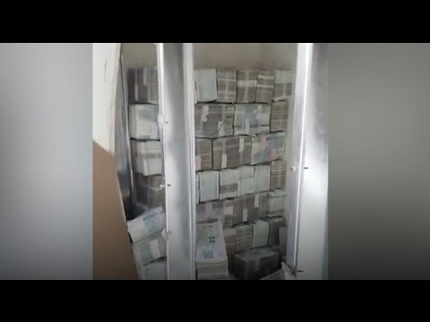 Huge sums of cash found in a second-hand house's walls?