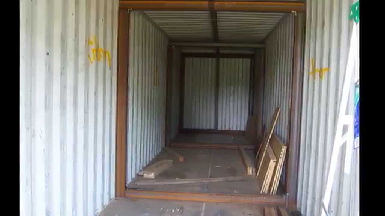 underground bunker shipping container/ part 1 - youtube