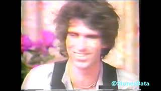 ROLLING STONES Keith Richards and Ronnie Wood funny interview Paris 1982 (raw footage)
