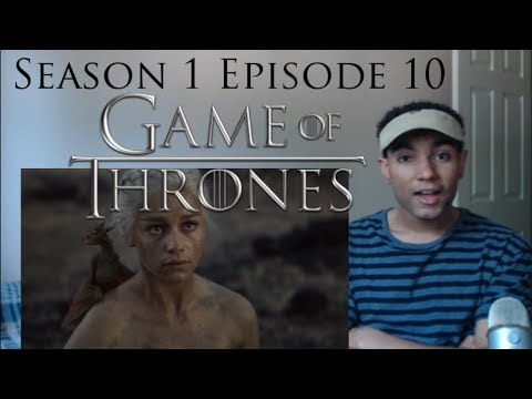 Game of Thrones 1x10 REACTION!!!