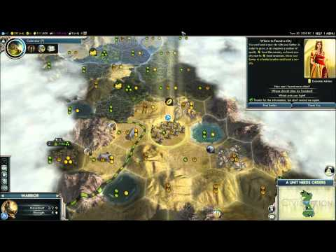 Lets Play Civilization V Gods And Kings France (In The Middle Of No Where) Part 1