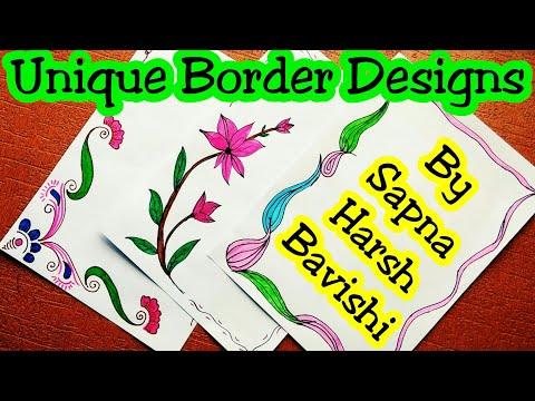 Border Designs On Paper | border designs | project design | border design | project design ideas