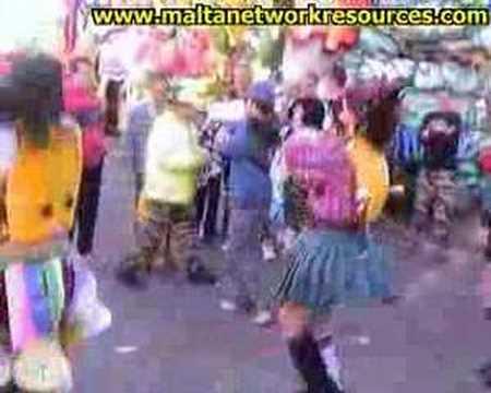 Cicco Dancers Malta Carnival 2004