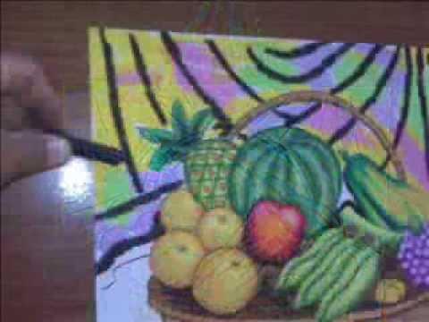 Mewarnai Buah Buahan Colouring Picture Fruits Youtube