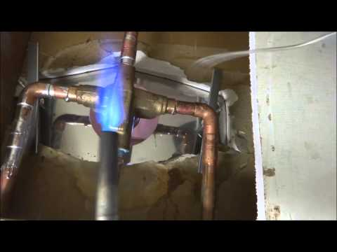 tub shower valve replaced from start to finish:plumbing tips