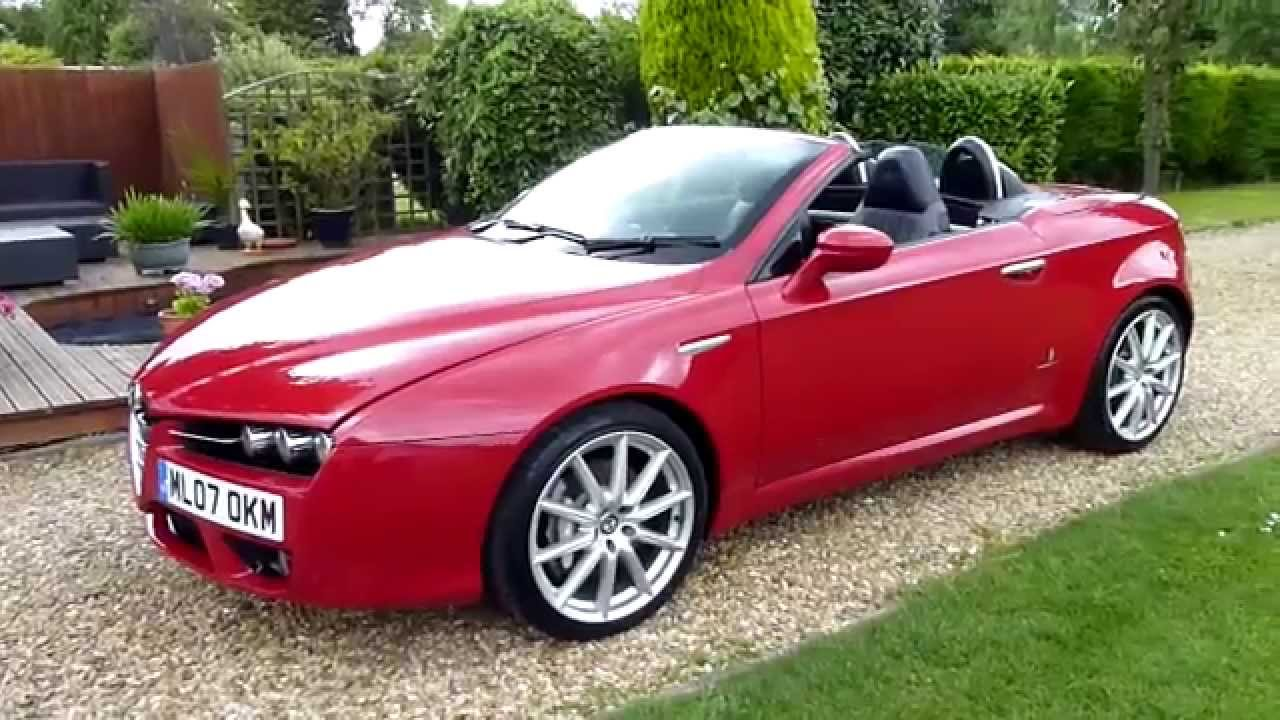 Alfa Romeo Brera Review  Alfa Workshop