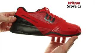 Wilson Rush Pro 2.5 Clay Men Red