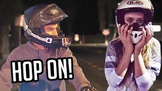 Picking Up Girls on the Sport Bike!