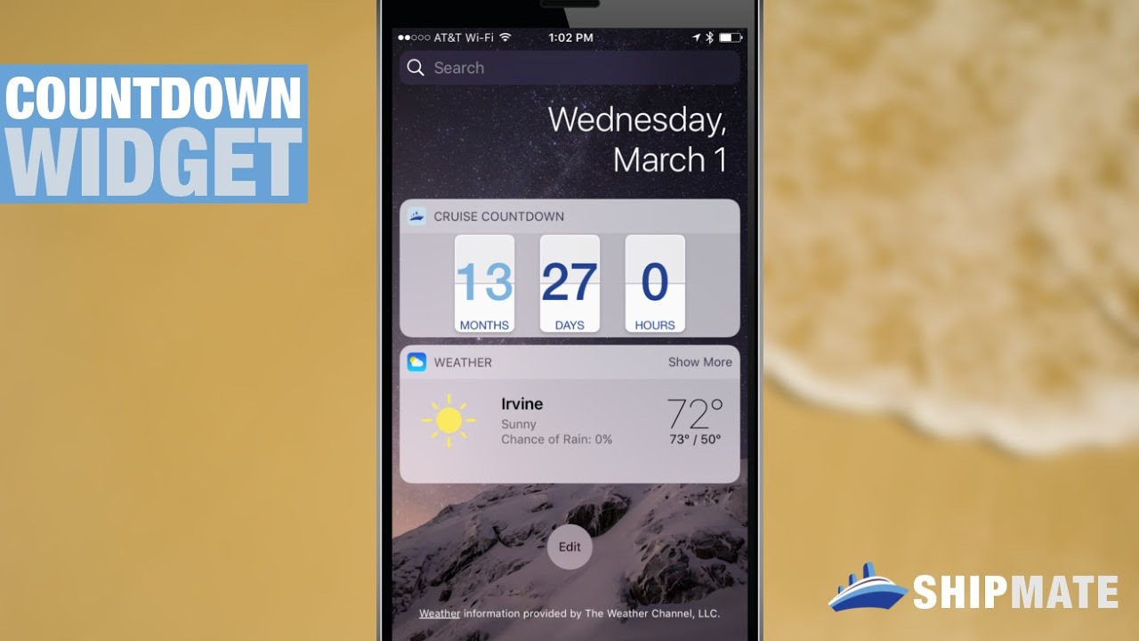 How to make a countdown on your iphone