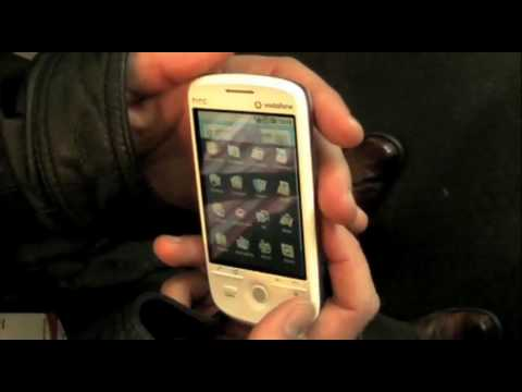 "HTC Magic Google Android Phone Hands-On Running ""Cupcake"" Build (Vodafone)"