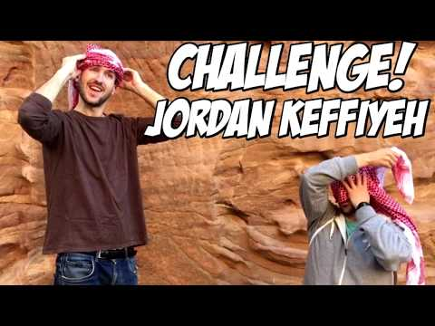 Wear a Jordan Keffiyeh – Challenge – Fly With Flow