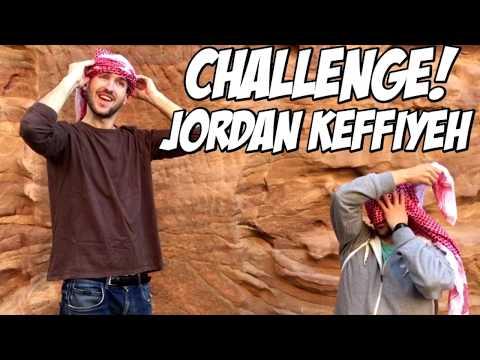 Wear a Jordan Keffiyeh – Challenge – Fly With Flow