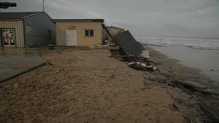 Gironde: à Soulac-sur-Mer, la mer menace les maisons - 06/01