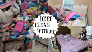 FALL EXTREME CLEANING| PLAYROOM CLEAN FOR WEEK