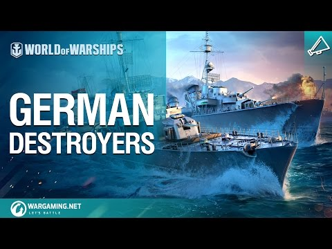 World of Warships - German Destroyers CGI 30sec ASIA