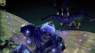 Mr. Freeze flies away | Batman & Robin