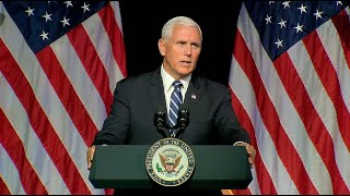 Pence to unveil plan to establish Trump's Space Force