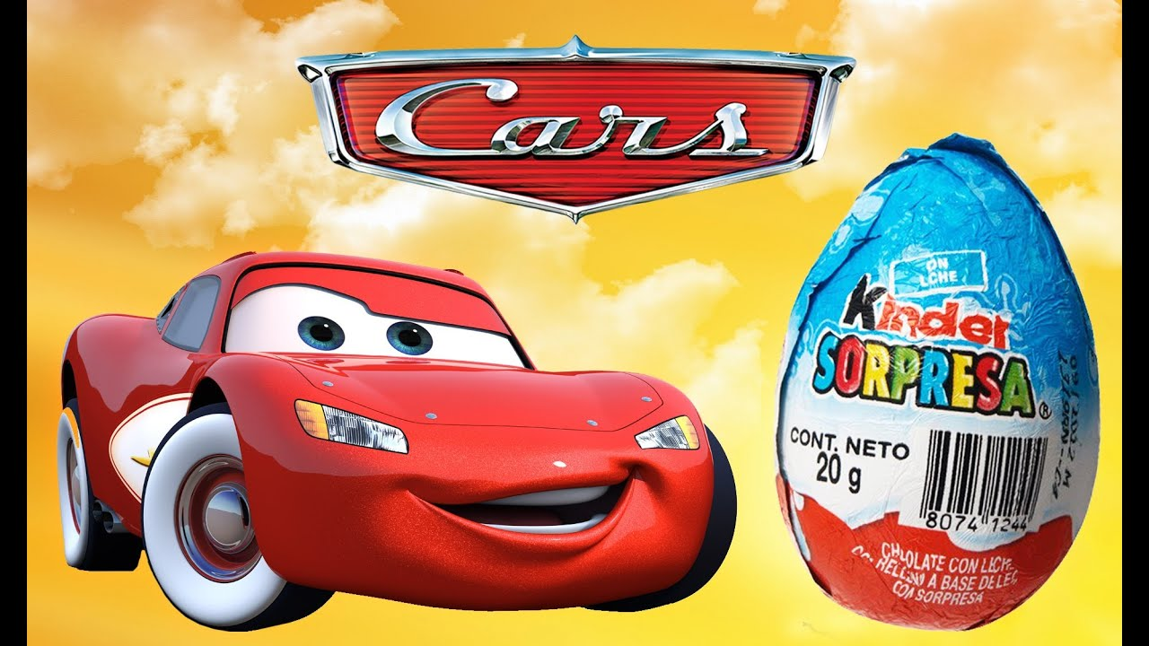 cars 3 movie surprise egg kinder toy video for kids disney pixar lightning mcqueen. Black Bedroom Furniture Sets. Home Design Ideas