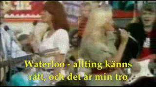 ABBA - WATERLOO (swedish version)