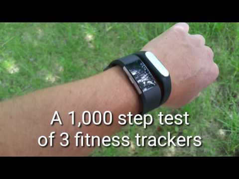 1,000 Step Test. Testing the step counter accuracy of Fitbit Charge 2, MI Band 1S, & Samsung Health