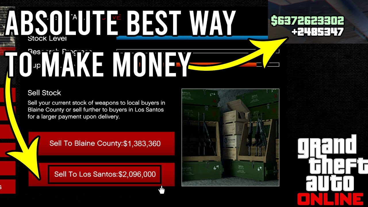 GTA 5 - THE ABSOLUTE BEST WAY TO MAKE MONEY THIS WEEK IN GTA 5 ONLINE!! MAKE MILLIONS EASILY!!