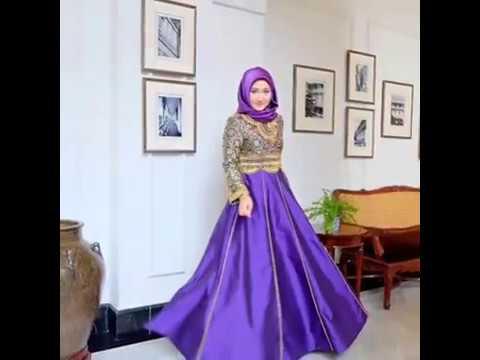 Inspirasi Fashion Gamis Batik Kombinasi Ala Dian Pelangi Youtube