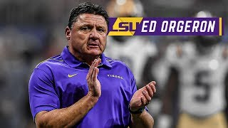 Trevor Lawrence would be a phenomenal pass rusher - Ed Orgeron | LSU vs. Clemson