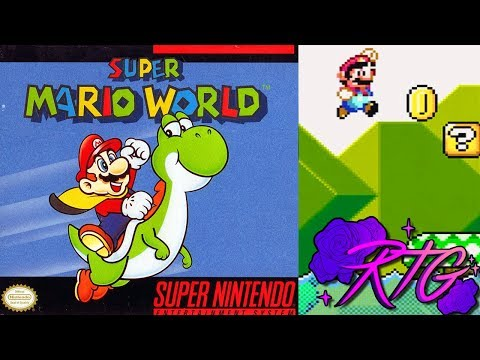 Super Mario World ~ SNES 1 Chip RGB via SCART Demo ~ XRGB-Mini Framemeister ~ RoseTintDemo