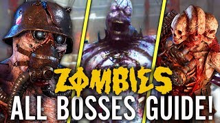 THE TORTURED PATH: ALL BOSS FIGHTS GUIDE! (How To Finish The Tortured Path WW2 Zombies DLC 3)