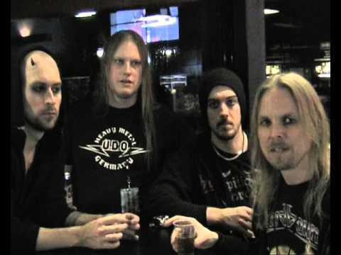 Bloodbound interview for The Metal Mag n12 - 23.02.2016 Bordeaux France