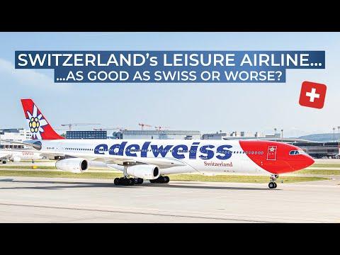 TRIPREPORT | Edelweiss Air (ECONOMY) | Airbus A340-300 | Zurich - Palma de Mallorca