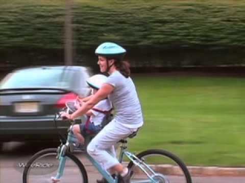 Siège Vélo Avant Le Portebébé Vélo WeeRide K YouTube - Porte bébé pour vélo