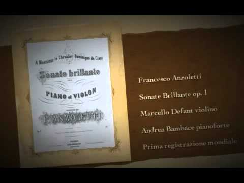 Francesco Anzoletti Sonate