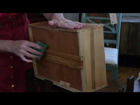 How to Open Locked Drawers in Antique Furniture : Antique Furniture Care