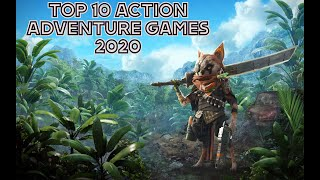 TOP 10 ACTION ADVEΝTURE GAMES FOR PC IN 2020