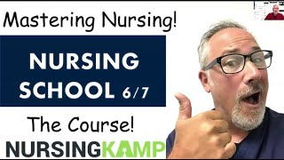 Lecture Tips for NCLEX and Nursing School How to study NCLEX Questions Nursing KAMP 6 of 7