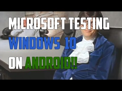 Run Windows 10 on Android Hardware? - Androidizen
