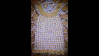 Платье для девочки 3 года крючком