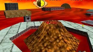 """[TAS] Super Mario 64 - Elevator Tour in the Volcano in 17""""28"""